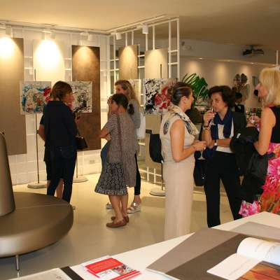 inaugurazione mostra di Roberto Spadea